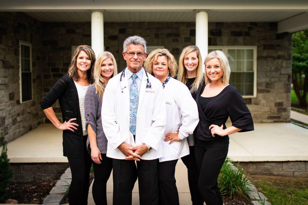 Dr Neumann and staff - AMA Ohio